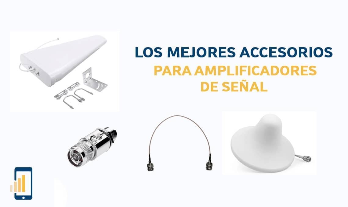 los mejores accesorios para amplificadores de senal